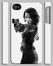 Load image into Gallery viewer, Black Widow Avengers Iphone 4 4s 5 5s 5c 6 6S 7 8 X XS Max XR Plus Cover Case