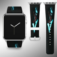 Load image into Gallery viewer, Venom Apple Watch Band 38 40 42 44 mm Fabric Leather Strap 01