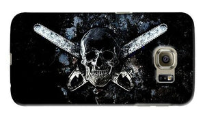 Halloween Skull Texas Chainsaw Samsung Galaxy S4 S5 S6 Edge Note 3 4 Case Cover