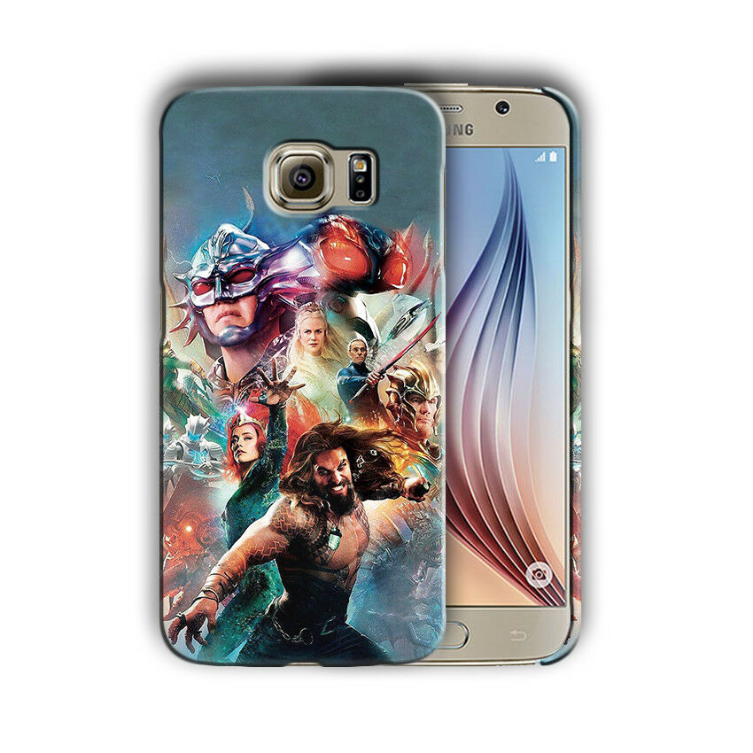 Super Hero Aquaman Samsung Galaxy S4 5 6 7 8 9 10 E Edge Note Plus Case n12