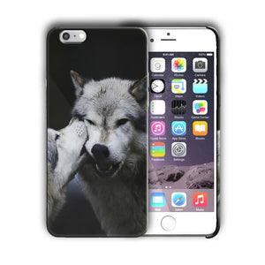 Animals Wolf Iphone 4s 5 5s 5c SE 6 6S 7 8 X XS XR 11 Pro Max Plus Case Cover n5