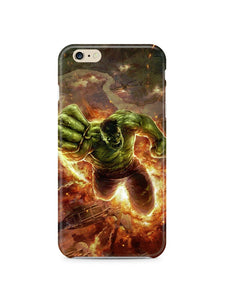 The Incredible Hulk Superhero Iphone 4s 5 6S 7 8 X XS Max XR 11 Pro Plus Case 8
