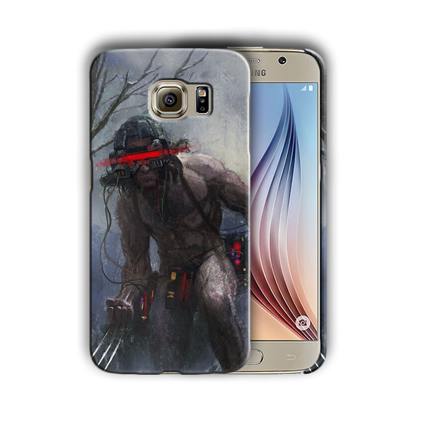 X-Men Wolverine Samsung Galaxy S4 5 6 7 8 9 10 E Edge Note 3 - 10 Plus Case 9