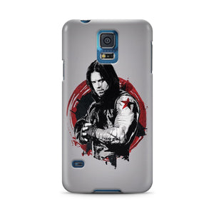 Winter Soldier Samsung Galaxy S4 5 6 7 8 9 10 E Edge Note 3 - 10 Plus Case 1