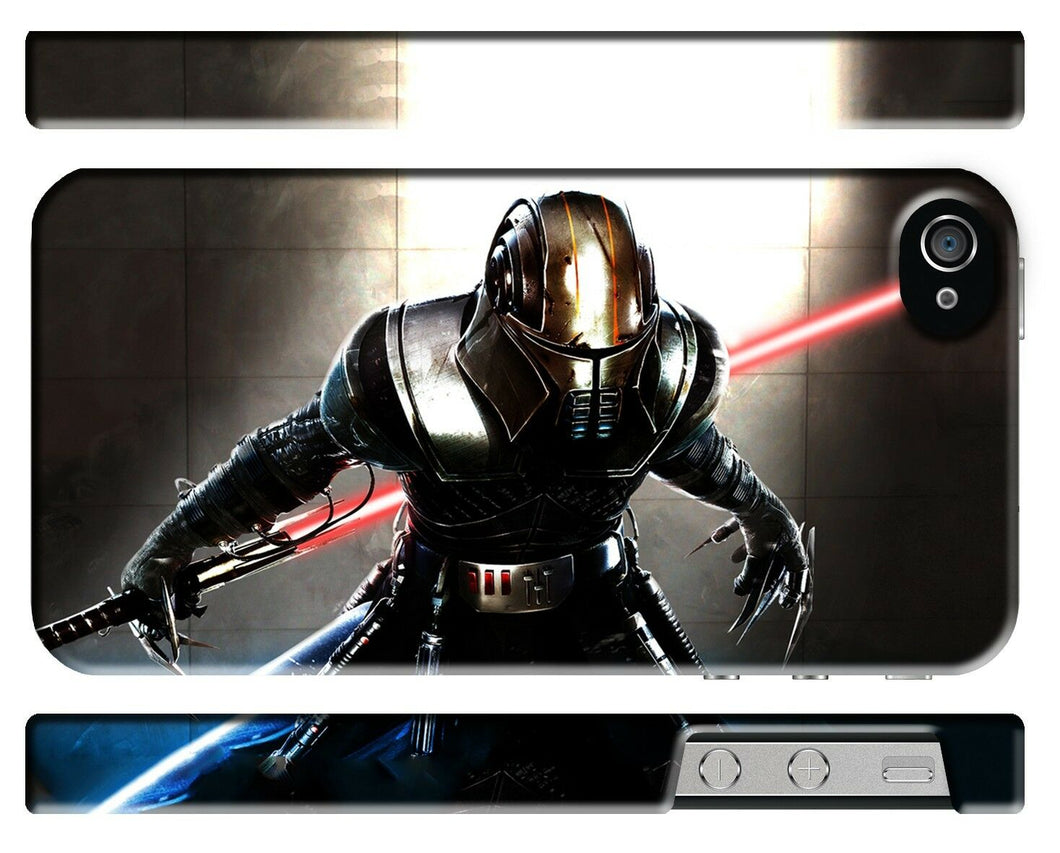 Star Wars Galen Marek Starkiller Iphone 4s 5 6 7 8 X XS Max XR 11 Pro Plus Case