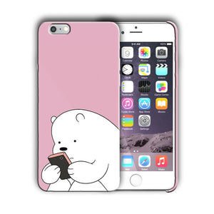Animation We Bare Bears Iphone 4s 5 5s 5c SE 6 6s 7 8 X XS Max XR Plus Case 10