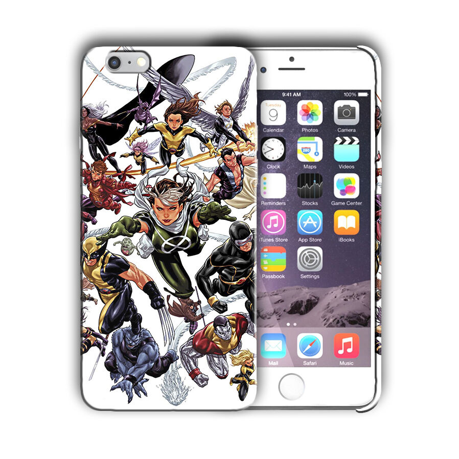 X-Men Superheroes Iphone 4s 5 SE 6 7 8 X XS Max XR 11 Pro Plus Case Cover 7