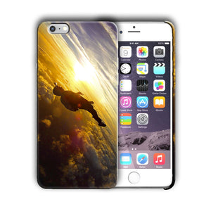 Extreme Sports Skydiving Iphone 4s 5 5s 5c SE 6 6s 7 8 X XS Max XR Plus Case 03