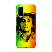 Load image into Gallery viewer, Jamajca Flag Bob Marley case for Galaxy S20 Ultra + plus Note 20 cover