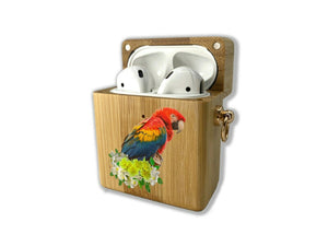 Republic of Honduras wooden Case for AirPods 1 2 3 Pro real wood cover SN 111