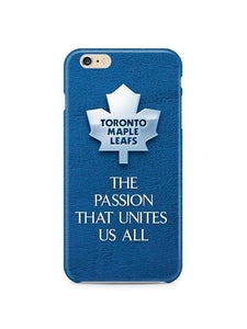 Toronto Maple Leafs iPhone 4S 5S 6S 7 8 X XS Max XR 11 Pro Plus SE Case Cover i5