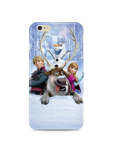 Iphone 4 4s 5 5s 5c 6 6S 7 8 X XS Max XR Plus Case Frozen Snowman Olaf Kids