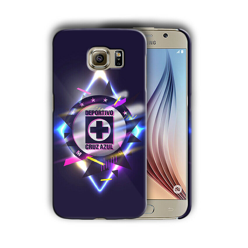 Cruz Azul FC Samsung Galaxy S4 5 6 7 8 9 10 E Edge Note 3 - 10 Plus Case 04