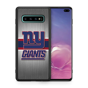 New York Giants TPU bumper case for Galaxy S10 E S9 plus S8 S7 S6 S5 note 5