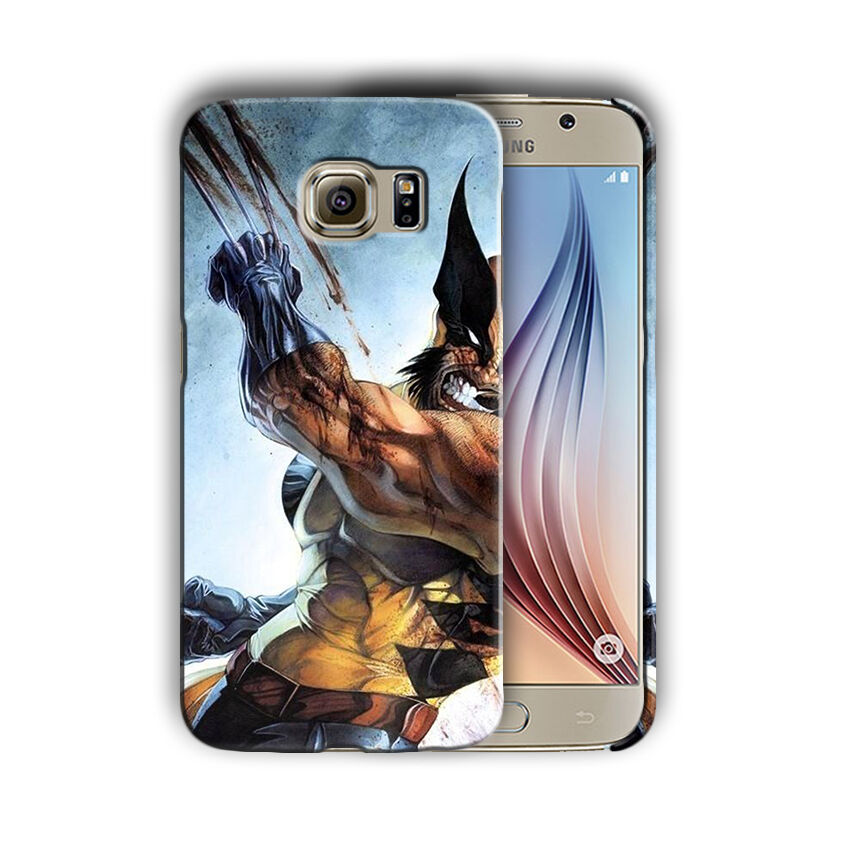 X-Men Wolverine Samsung Galaxy S4 5 6 7 8 9 10 E Edge Note 3 - 10 Plus Case 10