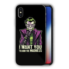 Load image into Gallery viewer, Super Villain Joker Iphone 4s 5 5s 5c SE 6 7 8 X XS Max XR 11 Pro Plus Case nn10