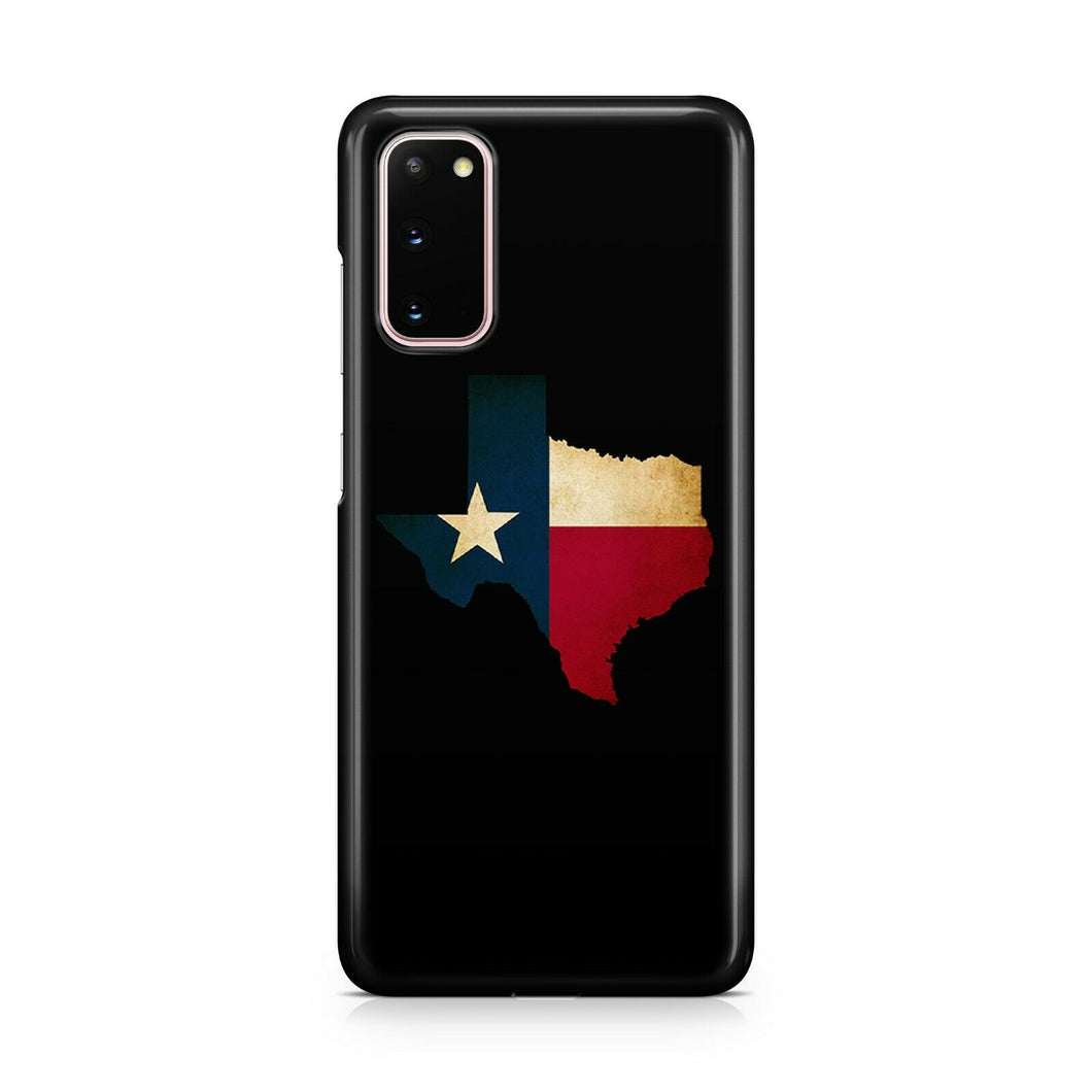 Texas Symbols Flag case for Galaxy S20 Ultra S20 + plus Note 20 cover