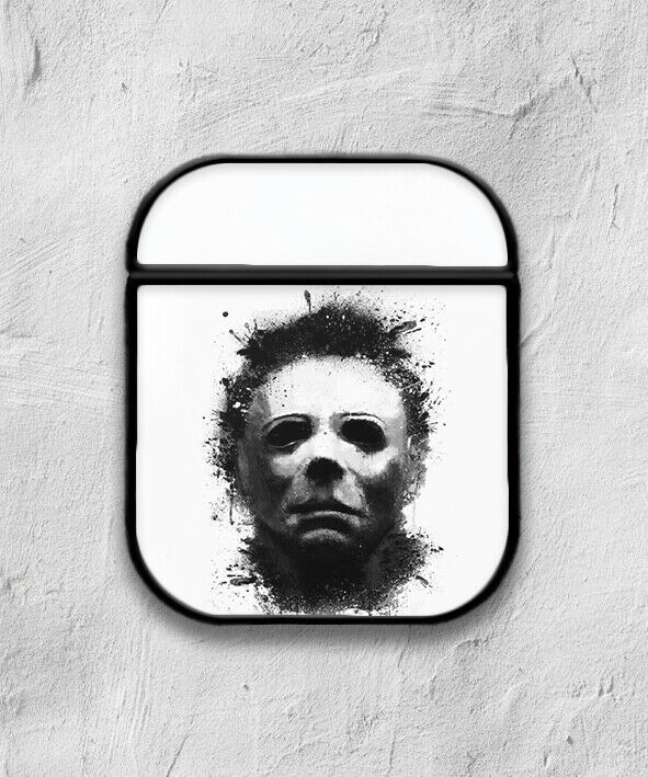 Halloween Michael Myers case for AirPods 1 2 3 Pro protective cover skin 01