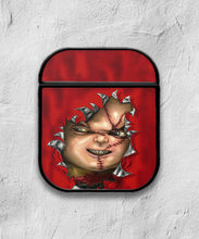 Load image into Gallery viewer, Halloween Chucky Horror case for AirPods 1 or 2 protective cover skin 01