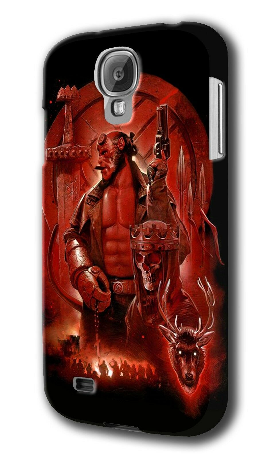 Hellboy Samsung Galaxy S4 5 6 7 8 Edge Note 3 4 5 Plus Case Cover 9