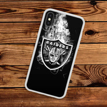 Load image into Gallery viewer, Oakland Raiders case for iphone XR X XS Max 7 8 plus 5 6 silicone cover