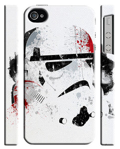 Star Wars Stormtrooper Christmas Iphone 4 4s 5 5s 5c 6 6S + Plus Case Cover 983