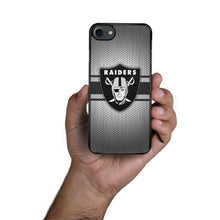 Load image into Gallery viewer, Rubber bumper case Oakland Raiders for iphone X XS Max XR 5 6 8 7 plus cover