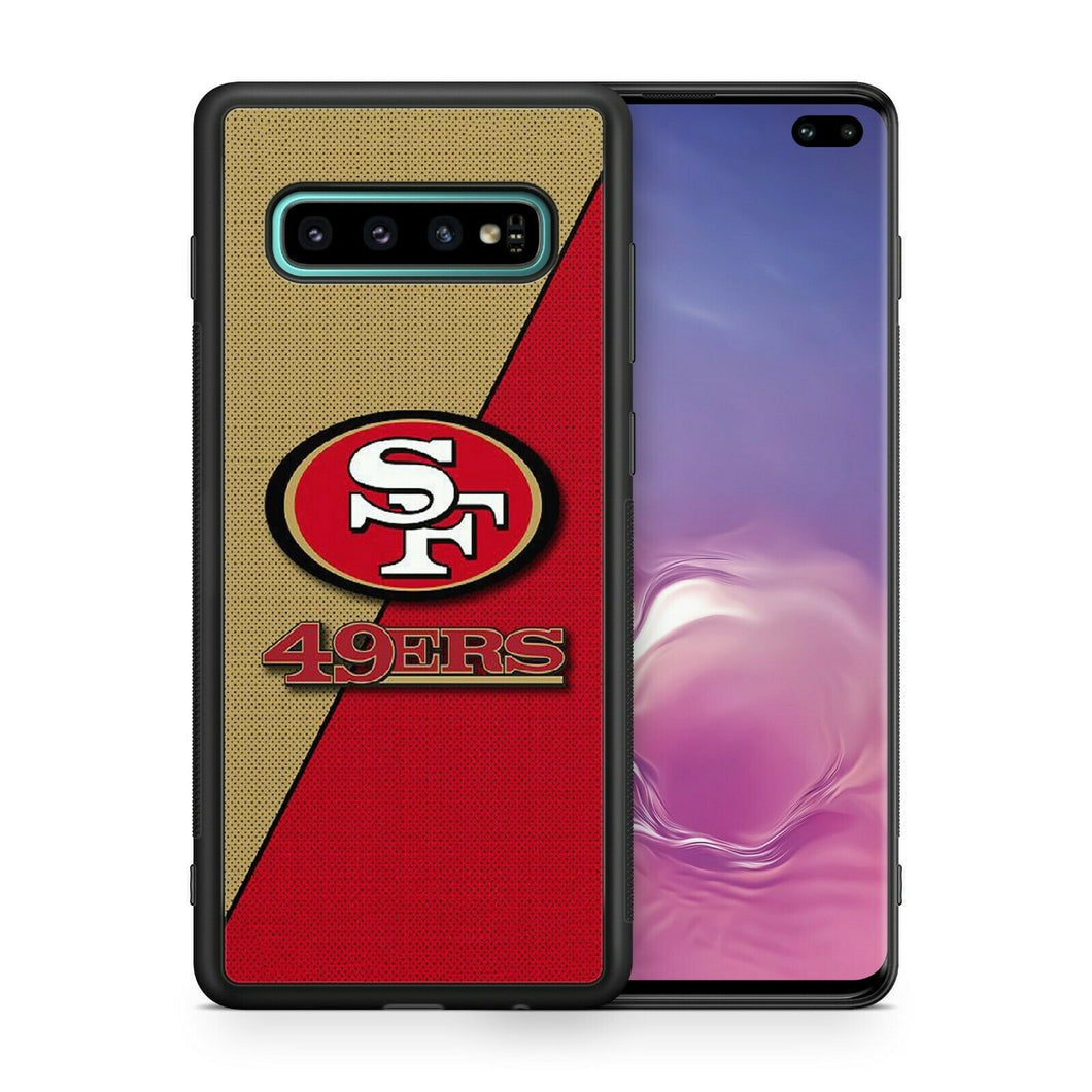 San Francisco 49ers protective TPU case for Galaxy S10 E S9 plus S8 S7 S6 5 note