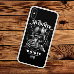 Oakland Raiders TPU bumper case cover for iphone 5 6 7 8 plus X XS Max XR
