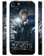 Load image into Gallery viewer, Fantastic Beasts Newt Scamander iPhone 4S 5 5S 5c 6 6S 7 + Plus SE Case Cover 7