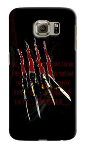 Halloween Freddy Krueger Samsung Galaxy S4 5 6 7 Edge Note 3 4 5 7 + Plus Case 4