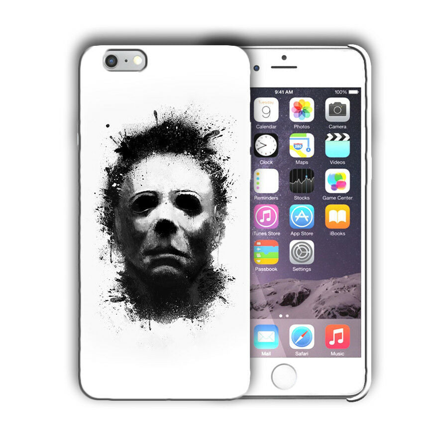 Halloween Michael Myers Iphone 4s 5s SE 6s 7 8 X XS Max XR 11 Pro Plus Case n5