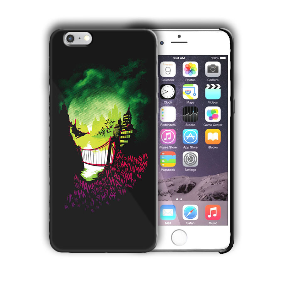 Super Villain Joker Iphone 4s 5 5s SE 6 6s 7 8 X XS Max XR 11 Pro Plus Case n3