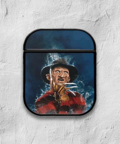Halloween Freddy Krueger case for AirPods 1 or 2 protective cover skin