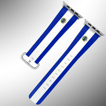 Load image into Gallery viewer, El Salvador Flag Apple Watch Band 38 40 42 44 mm Series 5 1 2 3 4 Wrist Strap 02