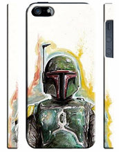 Load image into Gallery viewer, Star Wars Boba Fett Iphone 4s 5s 5c 6S 7 8 X XS Max XR 11 Pro Plus Case SE 017