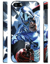 Load image into Gallery viewer, Captain America Avengers Iphone 4s 5 5s 5c SE 6 6S 7 8 X Plus Cover Case Comics