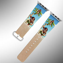 Load image into Gallery viewer, Moana Disney Apple Watch Band 38 40 42 44 mm Series 5 1 2 3 4 Wrist Strap
