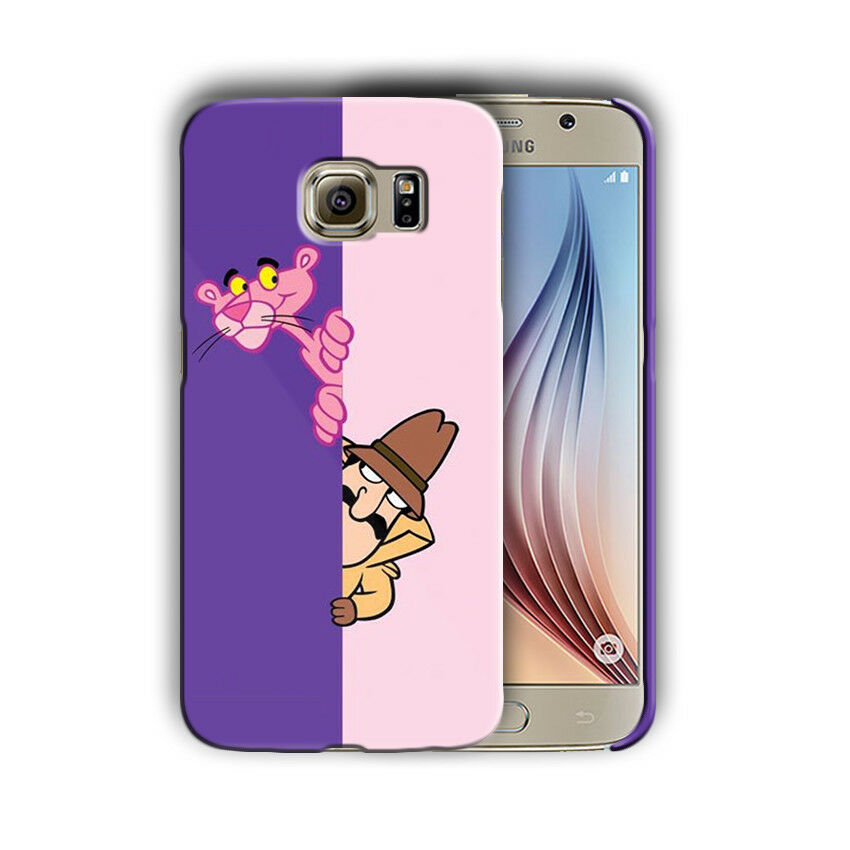 The Pink Panther Samsung Galaxy S4 5 6 7 S8 Edge Note 3 4 5 8 Plus Case Cover 02