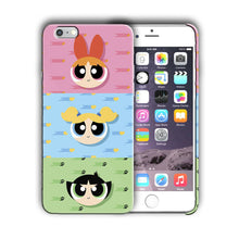 Load image into Gallery viewer, The Powerpuff Girls Iphone 4 4s 5 5s 5c SE 6 6s 7 + Plus Case Cover 05