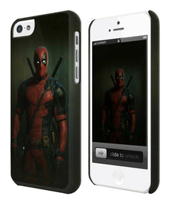 Iphone 4s 5 5s 5c 6 6S 7 8 X Plus Hard Cover Case Deadpool Hero Comics Kids ip7