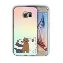 Load image into Gallery viewer, We Bare Bears Samsung Galaxy S4 5 6 7 8 9 10 E Edge Note 3 4 5 8 9 Plus Case 08