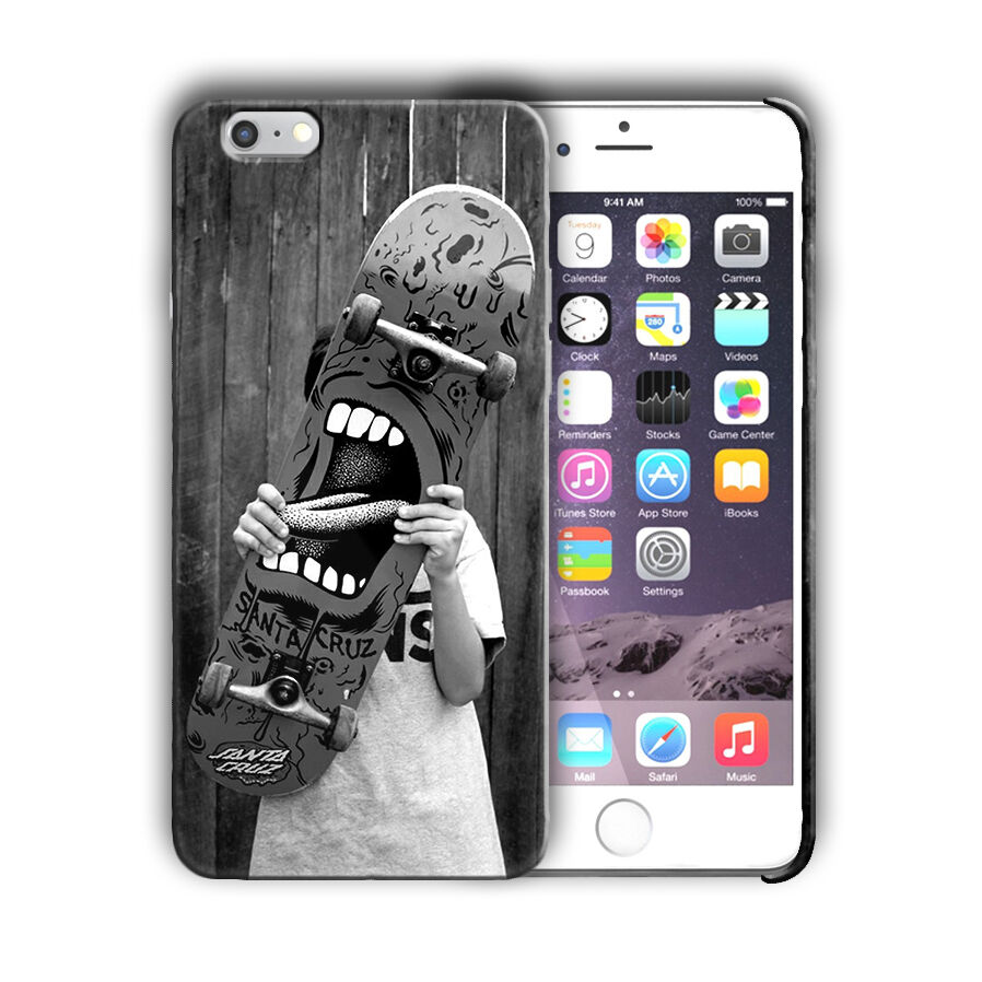 Extreme Sports Skateboarding Iphone 4 4s 5 5s 5c SE 6 6s 7 + Plus Case Cover 09
