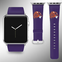 Load image into Gallery viewer, Clemson Tigers Apple Watch Band 38 40 42 44 mm Series 5 1 2 3 4 Wrist Strap 3