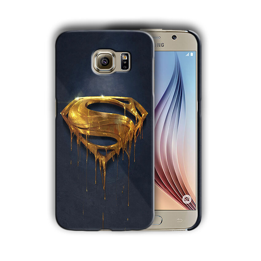 Super Hero Superman Samsung Galaxy S4 5 6 7 8 9 10 E Edge Note Plus Case n2