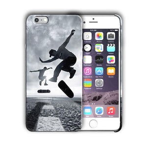 Extreme Sports Skateboarding Iphone 4 4s 5 5s 5c SE 6 6s 7 + Plus Case Cover 07