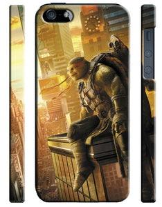 Teenage Mutant Ninja Turtles Michelangelo iPhone 4S 5S 5c 6S Plus SE Case Cover