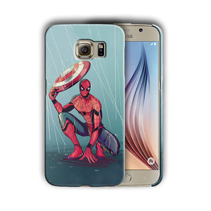Super Hero Spider-Man Samsung Galaxy S4 5 6 7 8 9 10 E Edge Note Plus Case 14