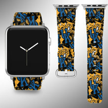 Load image into Gallery viewer, Kentucky Wildcats Apple Watch Band 38 40 42 44 mm Fabric Leather Strap 1