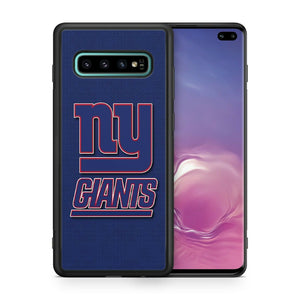 New York Giants TPU bumper case for Galaxy S10 E S9 plus note 5 S5 S6 S7 S8